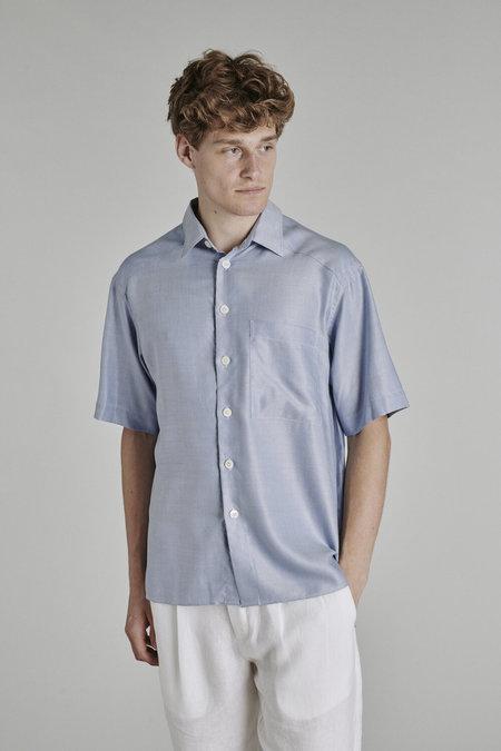 Delikatessen Relaxed Short Sleeve Shirt - Soft Portuguese Tencel