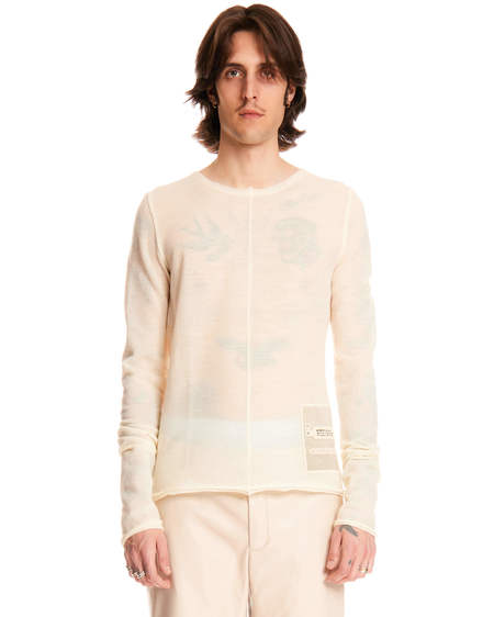 MISBHV Raw Cut Sweater - Beige