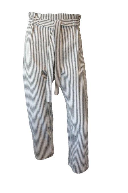 Emerson Fry Paris Pant - Charcoal Stripe