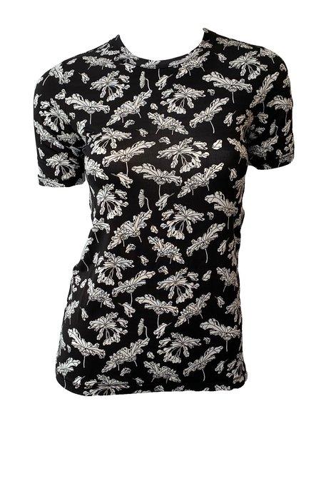Rag & Bone Sabeen Short Sleeve Tee - Black