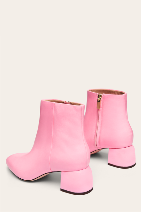 Nelson Made Luna Ankle Boot - Gari Pink