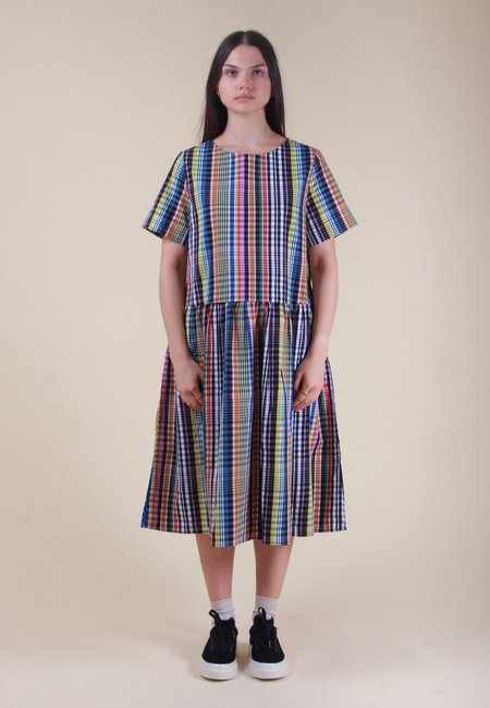 Kowtow Mariette Dress - Checks