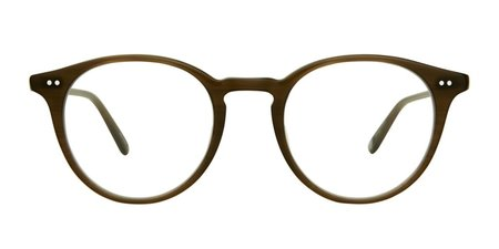 Garrett Leight Clune 47 eyewear - olive
