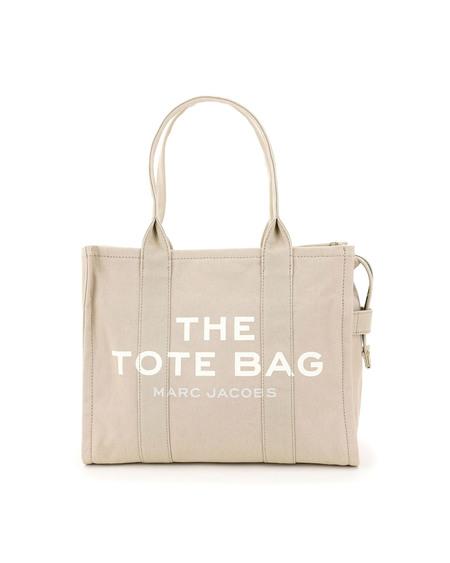 Marc Jacobs Cotton Tote Bag - Beige
