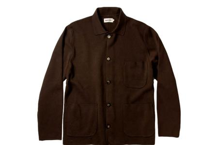 Taylor Stitch The Prout Jacket - Turkish Coffee