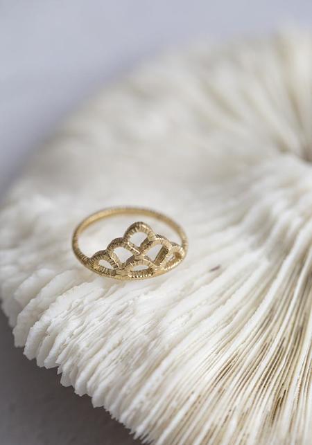 Molly Debiak Crown Ring - Gold Vermeil