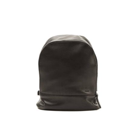 Nimes Bici Leather Backpack - Black