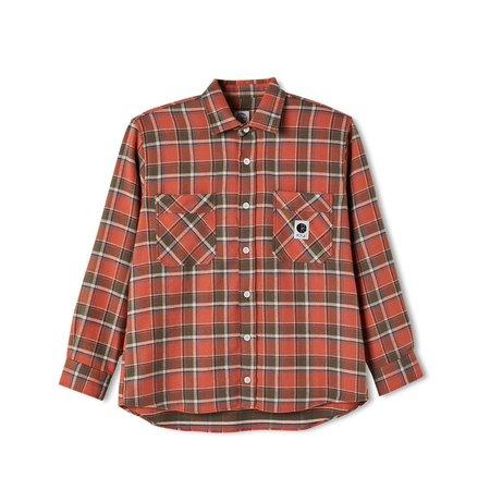 Polar Skate Co. Flannel Shirt - Orange