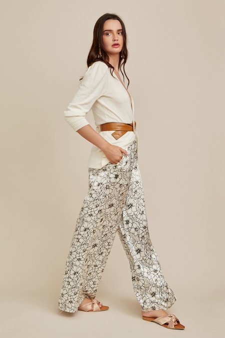 CHRISTY LYNN Jade Pant - Etched Floral