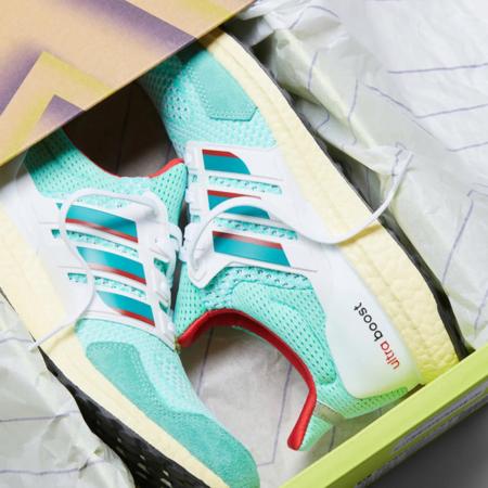 adidas Ultraboost DNA 1.0 Men H05264 Shoes - Bahia Mint/Eqt Green
