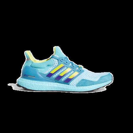 adidas Ultraboost DNA 1.0 Men H05263 Shoes - Light Aqua/Shock Yellow