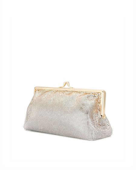 Paco Rabanne Metal Clutch Bag - silver