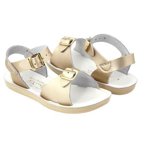 kids Saltwater Sandals Surfer Sandals - Gold