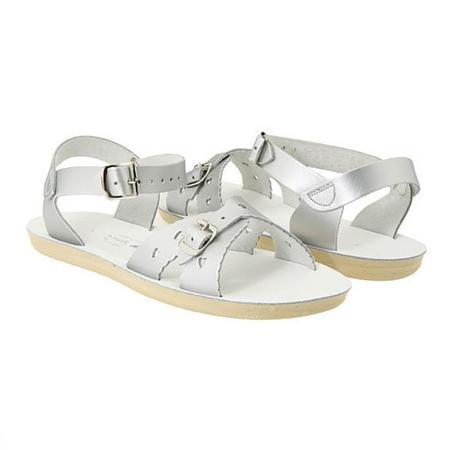 kids Saltwater Sandals Sweetheart Sandals - Silver