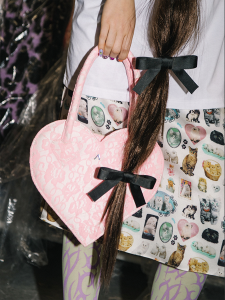 Ashley Williams Hair Bow - black