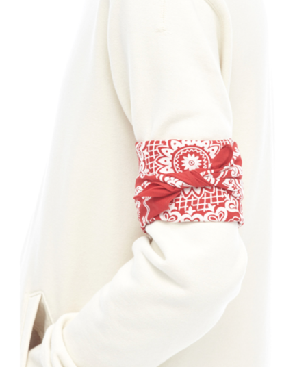Sandinista MFG Bandana scarf - Red