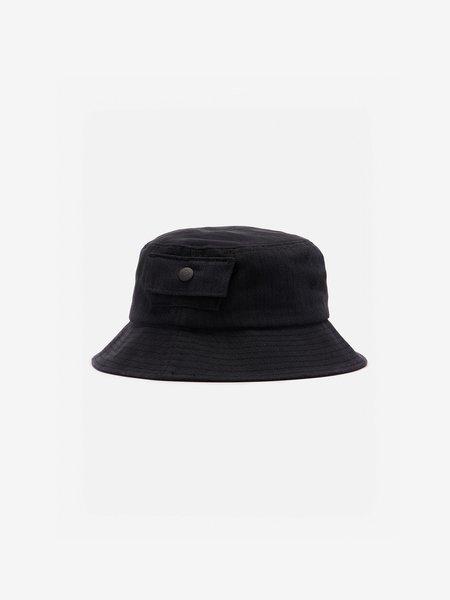 General Admission Herringbone Bucket Hat - Black