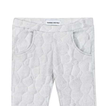 KIDS DIAPERS + MILK Texture Print Pant