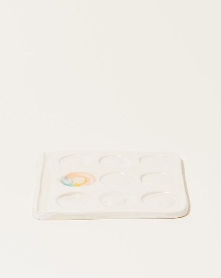 Minh Singer Small Prism Watercolor Palette - White