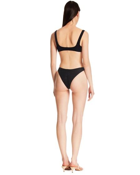 Oseree Glitter Effect Bikini - black