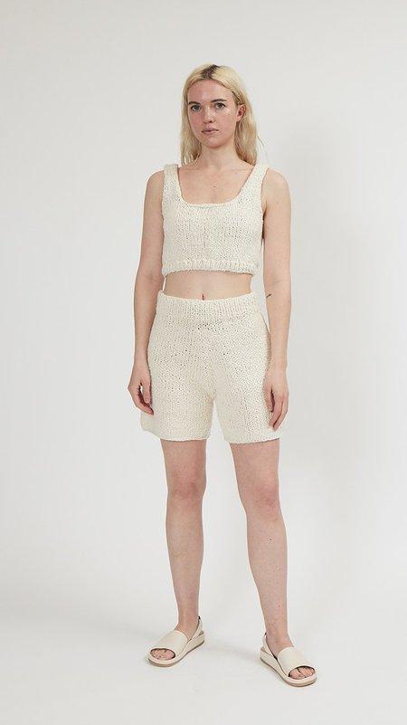 Lauren Manoogian Handknit Shorts - Roving