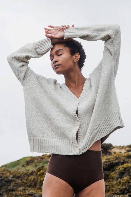 beaumont organic Charis Recycled Cotton Cardigan