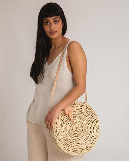 beaumont organic Stella Recycled Cotton Top - natural