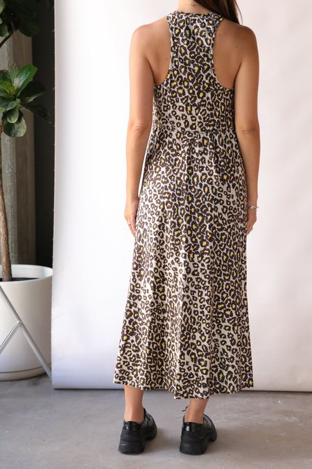 Raquel Allegra Anais Dress - Leopard