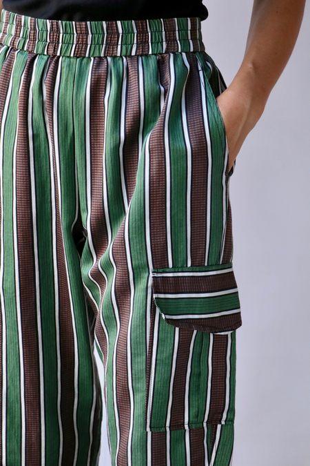 Raquel Allegra Cargo Pant - Stripe
