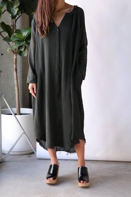Raquel Allegra Poet Dress - Green
