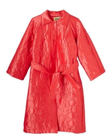 Michons Marigot Quilted Belted Coat