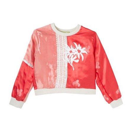 Michons Marigot Patchwork Pullover