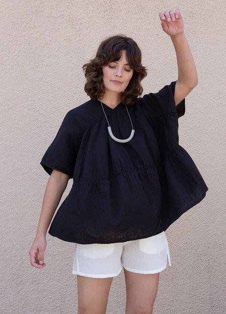 Atelier Delphine Lihue Tunic - Black
