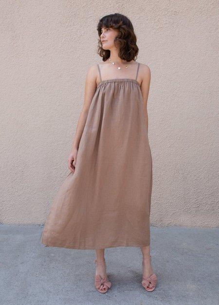 Filosofia Leah Dress - Wheat