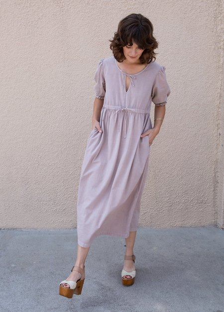 Lacausa Sapho Dress - Mushroom
