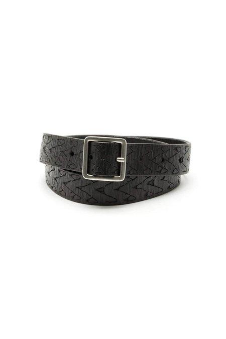 RE/DONE Embossed Belt - Black