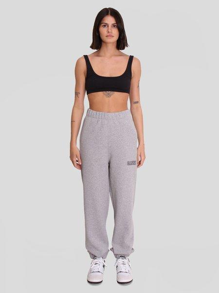 Ganni Elasticated Pants - Paloma Melange