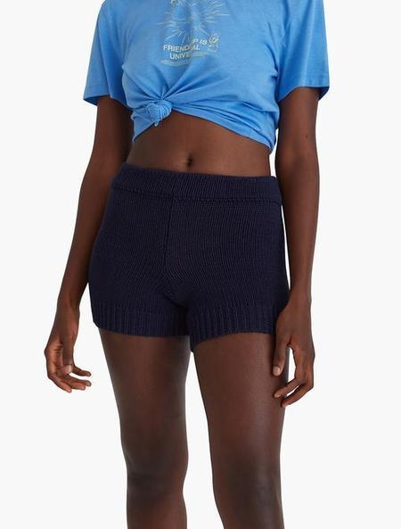 Paloma Wool Zubat Knit Short - Navy