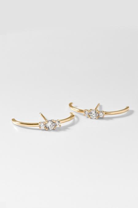 Thatch Anaïs Earrings - Gold