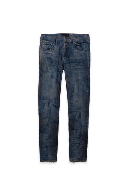 Purple Brand Dirty Resin Jean - French Blue Indigo