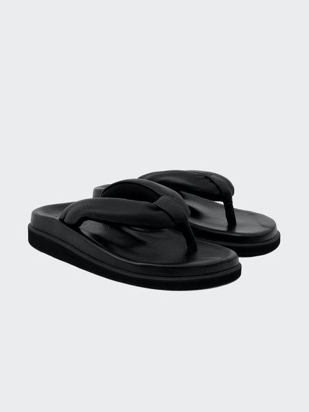 Sinobi Round Sandal - Black