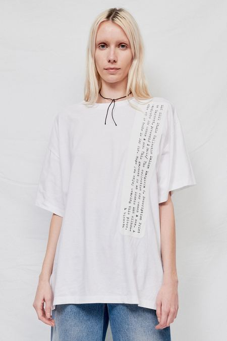 Maison Margiela Genderless Basic Jersey Tee Shirt