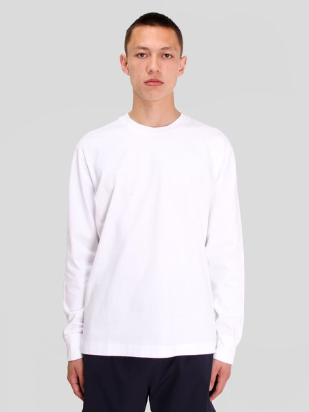 Reigning Champ Knit Mid Wt Jersey Long Sleeve - white