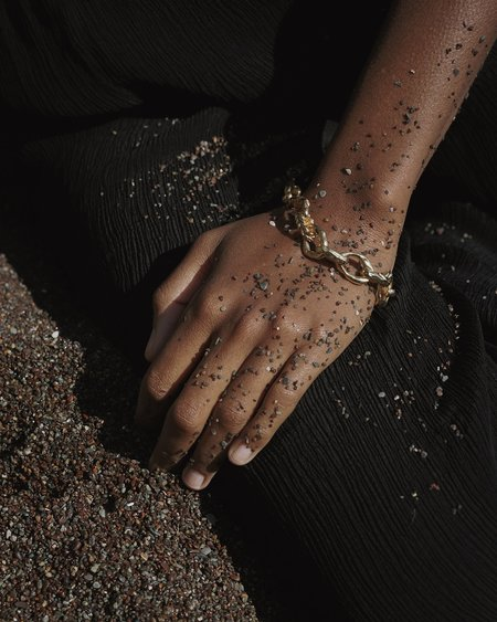 Pamela Love Braided Serpent Bracelet - 14k yellow gold