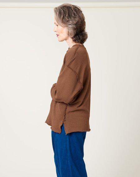unisex Dr. Collectors Big Sur Sweatshirt - Brown