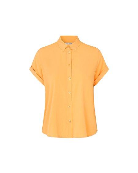 SAMSOE SAMSOE W Majan 9942 SS Shirt - Jurassic Gold