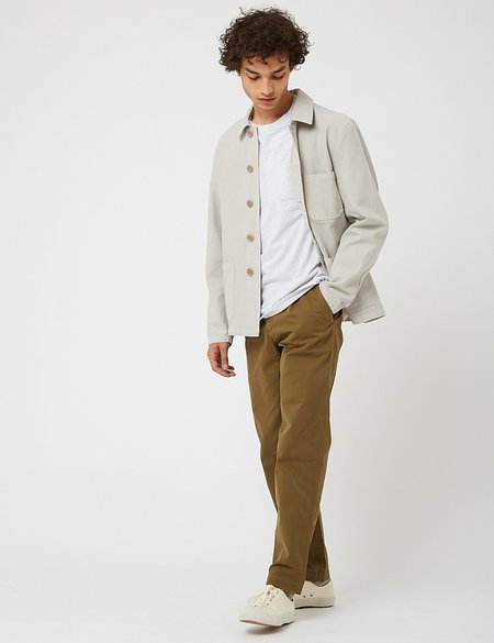 Bhode Chore Jacket - Light Grey