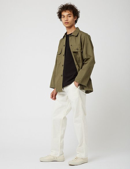 Orslow Trooper Fatigue Shirt - Army Green