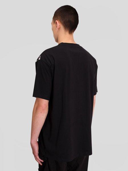 RAF SIMONS Oversized Printed Patch T-shirt - Black
