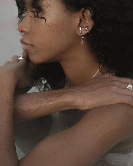 Pamela Love Braided Ear Cuff - sterling silver